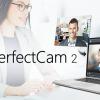 PerfectCam - AI 技術のビデオプラグインで見た目をビジネスライクに最適化